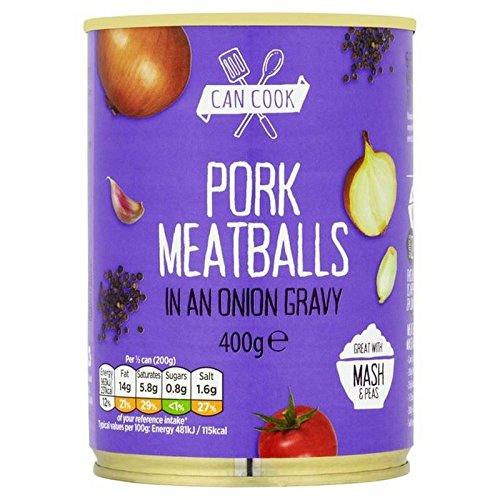 Puede Cocinar Albóndigas De Carne De Cerdo En Una Salsa De Cebolla 400G (Paquete de