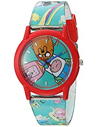 Adventure Time ATW001-RE Finn Jake Princess Bubblegum Reloj para niños