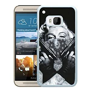 Tattooed Marilyn Monroe White HTC ONE M9 Screen Phone Case High Quality Handmade Cover