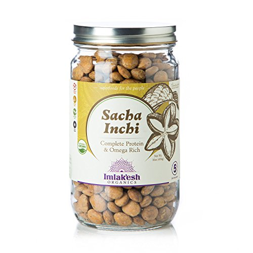 Imlak'esh Organics Sacha Inchi, 16-Ounce Jar