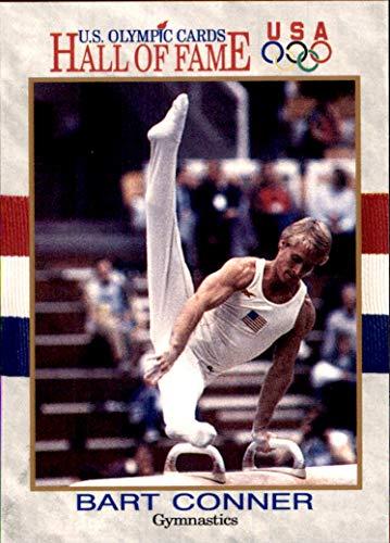 Bart Conner Gymnastics 1991 Impel U.S. Olympic Hall of Fame HOF #82 MLB Baseball Card