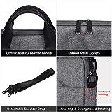 15.6 Inch Water Resistant Laptop Briefcase Bag Men