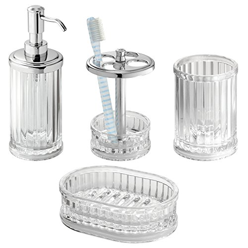 Top 5 best bathroom accessories set acrylic for sale 2017 for Bathroom accessories sale