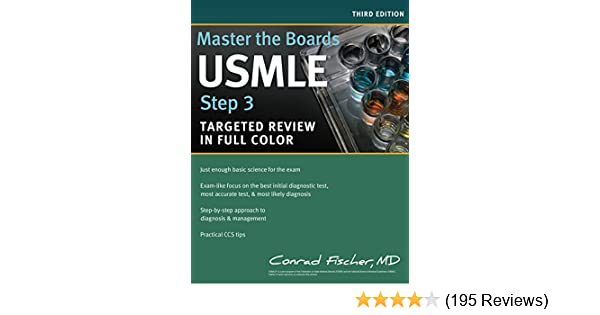 Master the Boards USMLE Step 3: 9781618653758: Medicine & Health