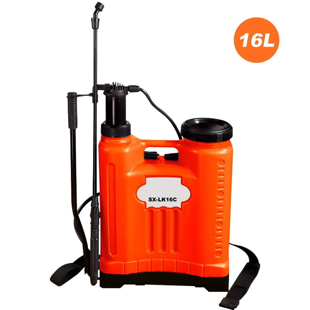 Robbey Adjustable Hand Pump Pressure Sprayer with Pressure Relief Valve for Weed Killers, Herbicides, and Insecticides, Window Cleaning,Gardening Watering, Seedling Moisturizing by Robbey