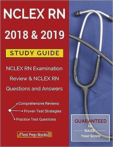 NCLEX RN 2018 & 2019 Study Guide: NCLEX RN Examination Review