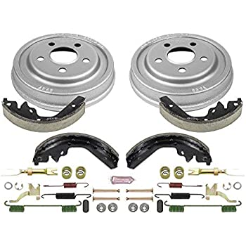 Drum and Shoe Kits Rotor Power Stop Front /& Rear K15091DK Performance Pad