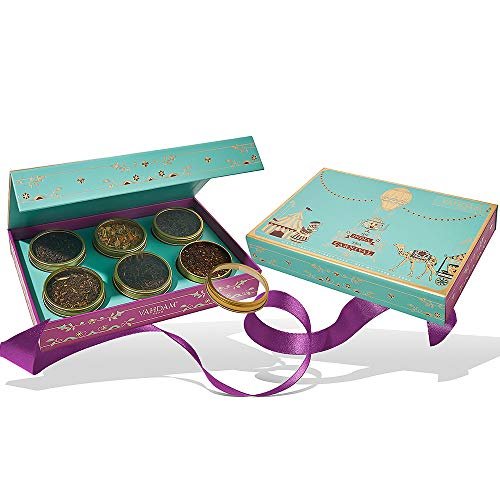VAHDAM, Indian Tea Carnival Gift Set - 6 Teas in Sampler Gift Box | OPRAH's FAVORITE TEA 2019 | Packed at Source in India | Holiday Gifts for Dad | Gifts for Men | Men Gifts | Tea Gifts Set (Unique Wedding Gifts For Couples In India)