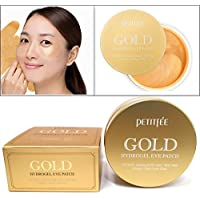 [PETITFEE] Gold Hydrogel Eye Patch 60 pcs (30 pairs) / moisture,dark circles,wrinkles/Korean Cosmetics