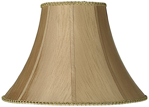 Earthen Gold Round Bell Lamp Shade 8x18x13