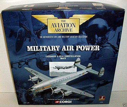 CORGI 1/144 47509 LOCKHEED C-121A CONSTELLATION MATS B0013UV21M