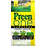 Preen 2164169 One LawnCare Weed & Feed-Covers 5,000 sq. ft, 18 lb