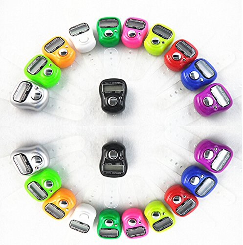 Worldoor® 10pcs New Mini 5 Digit LCD Electronic Digital Golf Finger Hand Held Ring Tally Counter