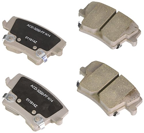 ACDelco 14D1057CH Advantage Ceramic Rear Disc Brake Pad Set