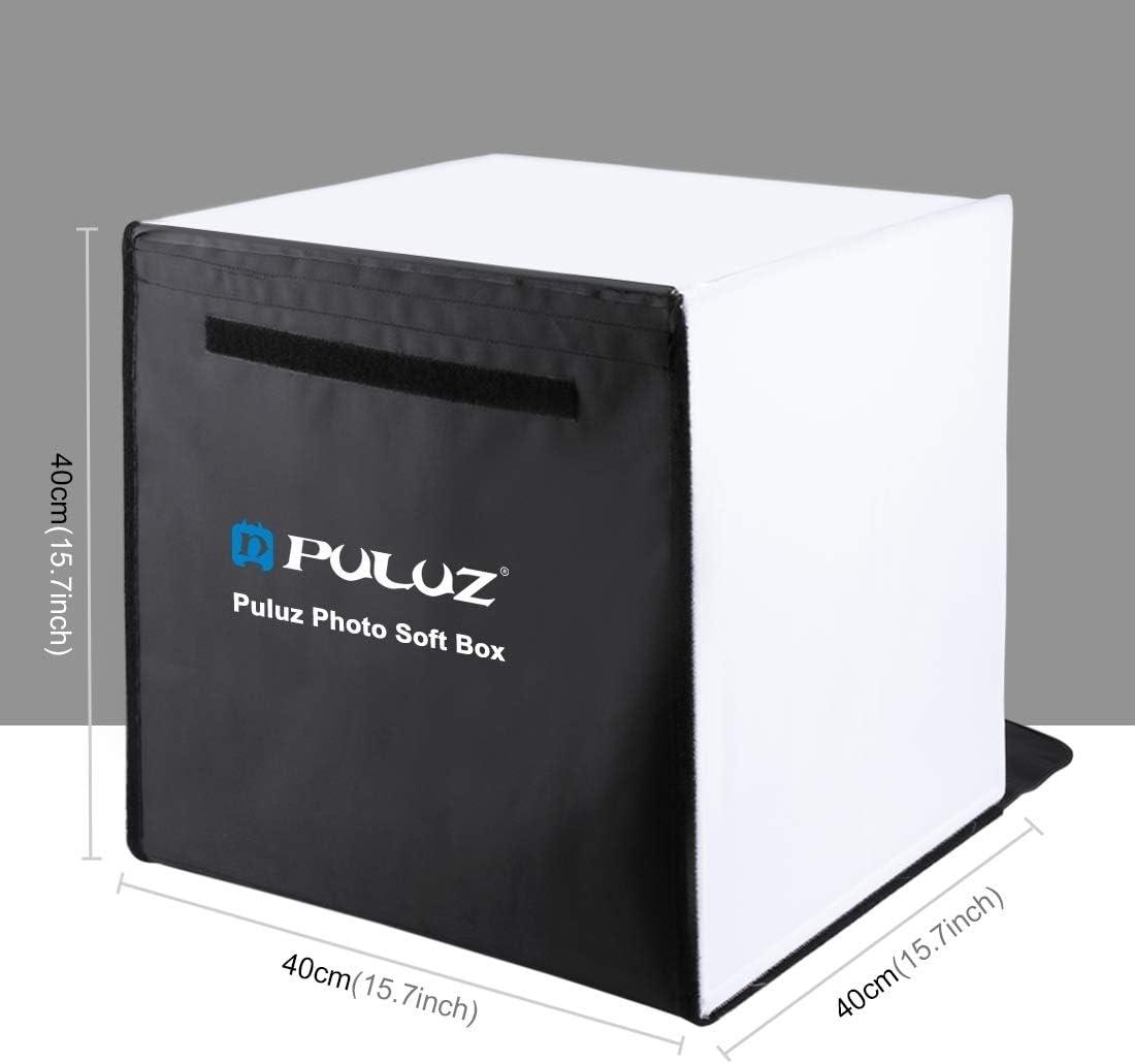 Color : Color1 MEETBM ZIMO,40cm Photo Softbox Portable Folding Studio Shooting Tent Box Kits with 5 Colors Backdrops Size: 40cm x 40cm x 40cm Red, Orange, Blue, White, Black