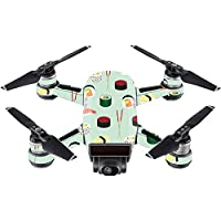 Skin For DJI Spark Mini – Sushi   MightySkins Protective, Durable, and Unique Vinyl Decal wrap cover   Easy To Apply, Remove, and Change Styles   Made in the USA
