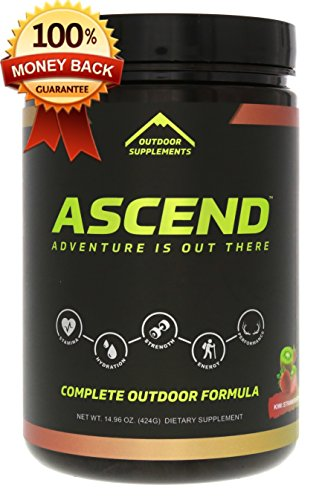 Outdoor Supplements Ascend, Energy Supplement, Electrolyte Supplement, Recovery Supplement