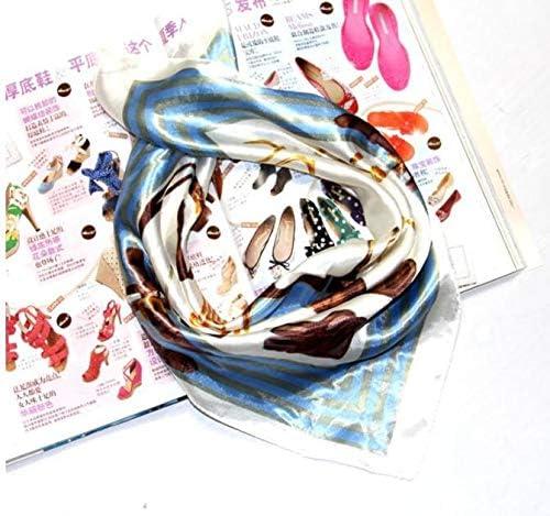 XINGZI 10PCS Womens Silky Scarf Square Mixed Pattern /& Colors Fashion Accessory Set Neckerchief Scarf Headband Waistband Headwear Hairband Hair Decoration Accessories Mixed Color Random