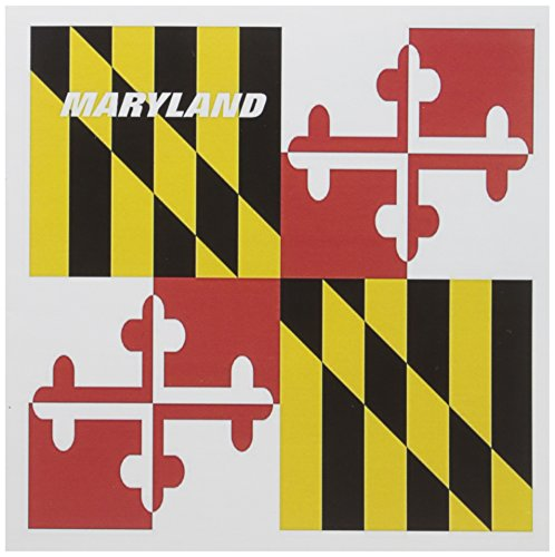 3dRose State Flag Of Maryland - Greeting Cards, 6 x 6 inches, set of 12 (gc_45066_2)