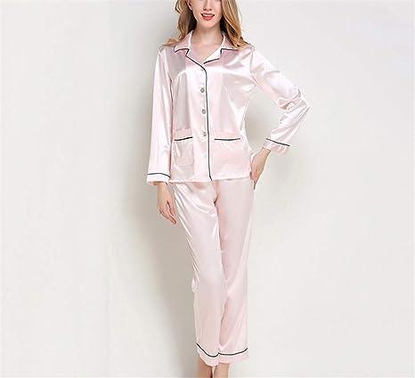 Lostryy Conjunto de Pijamas para Mujer/Batas de baño largas ...