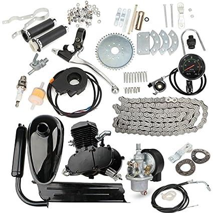 WCHAOEN Kit de motor de gasolina de motor de bicicleta motorizado ...