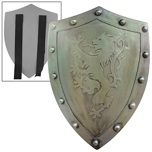 Rampant Lion Bravery Medieval Battle Foam Shield