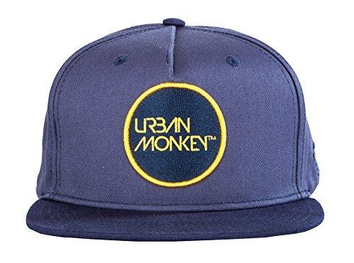 8d7366c9a10 Urban Monkey Men s Cotton Adjustable Look Baseball Plain Snapback ...