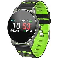 Smart Watch, Fitness Tracker Kleur Scherm met Waterdichte Activiteit Tracker met Hartslagbloeddrukmeter, Fitness Horloge met Slaapmonitor Stappenteller Calorie Counter voor Android & iPhone