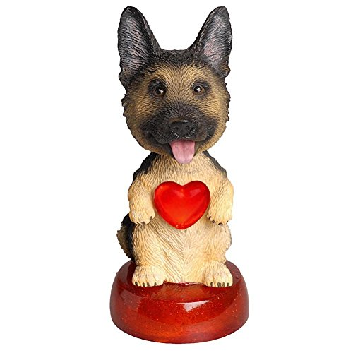 German Shepherd LED Bobble Head by Calendar Club