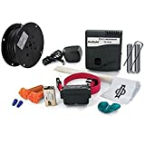 2 Dog System Petsafe Pig00-10777 Big Stubborn Dog In-ground Electric Pet Fence 1,000' 14g Wire with Extra 2 Splices, 50 Flags, 1 Pc 9v Battery, 100 Staples Bundle Package