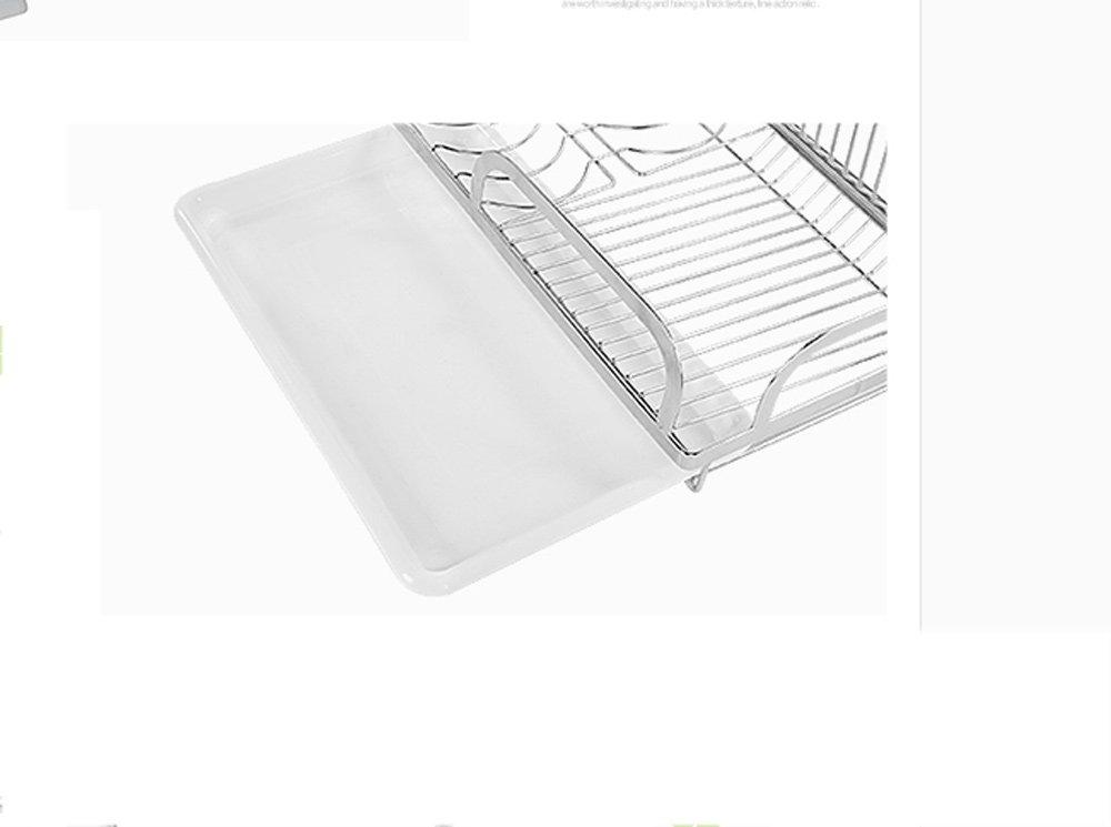 Hyun times Kitchen Pendant 304 Stainless Steel Hanging Rod Kitchen Utensils Dishui Kitchen And Toilet Rack Racks by Hyun times Bowl shelf (Image #4)