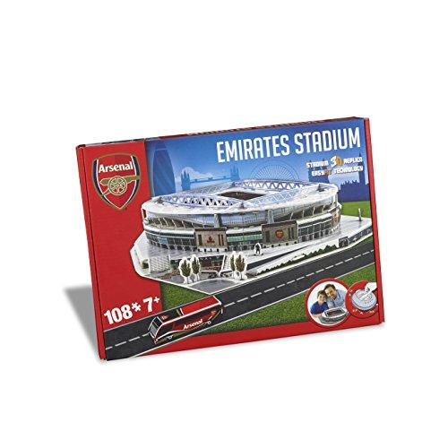 Arsenal Stadium - Nanostad Arsenal Emirates Stadium 3D Puzzle