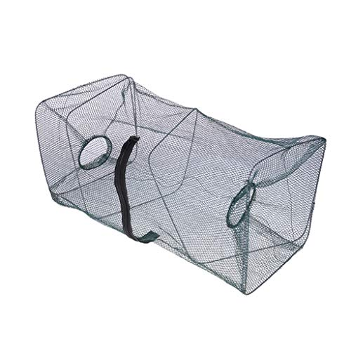 Hot Fishing Net for Crab Fish Shrimp Minnow Fishing Bait Trap Cast Dip Foldable Net Cage Fishing Tool (Size : - Boutique Crab