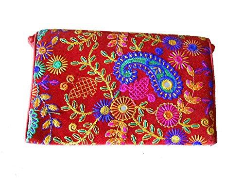 Sacchetto Attraversato Velluto Kalra Di Le Creazioni Donne Per Multicolore qzTTp5Erwx