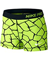 "Nike Pro Patch Work 3"" (X-Large, Giraffe Volt/Black/White)"