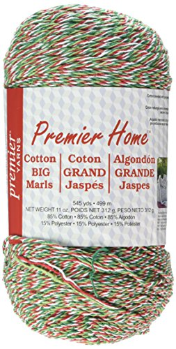 Premier Yarns Home Cotton Big Marl Yarn, Holiday