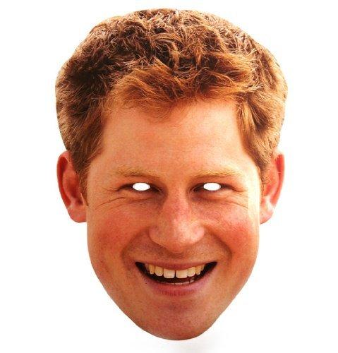 Party Maske - Party Mask Prince Harry (Masquerade Maske)