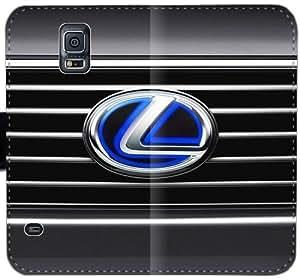 Lexus Logo V2P4P Funda Samsung Galaxy Note 4 caja de cuero funda de plástico dE2717 único funda del caso del tirón