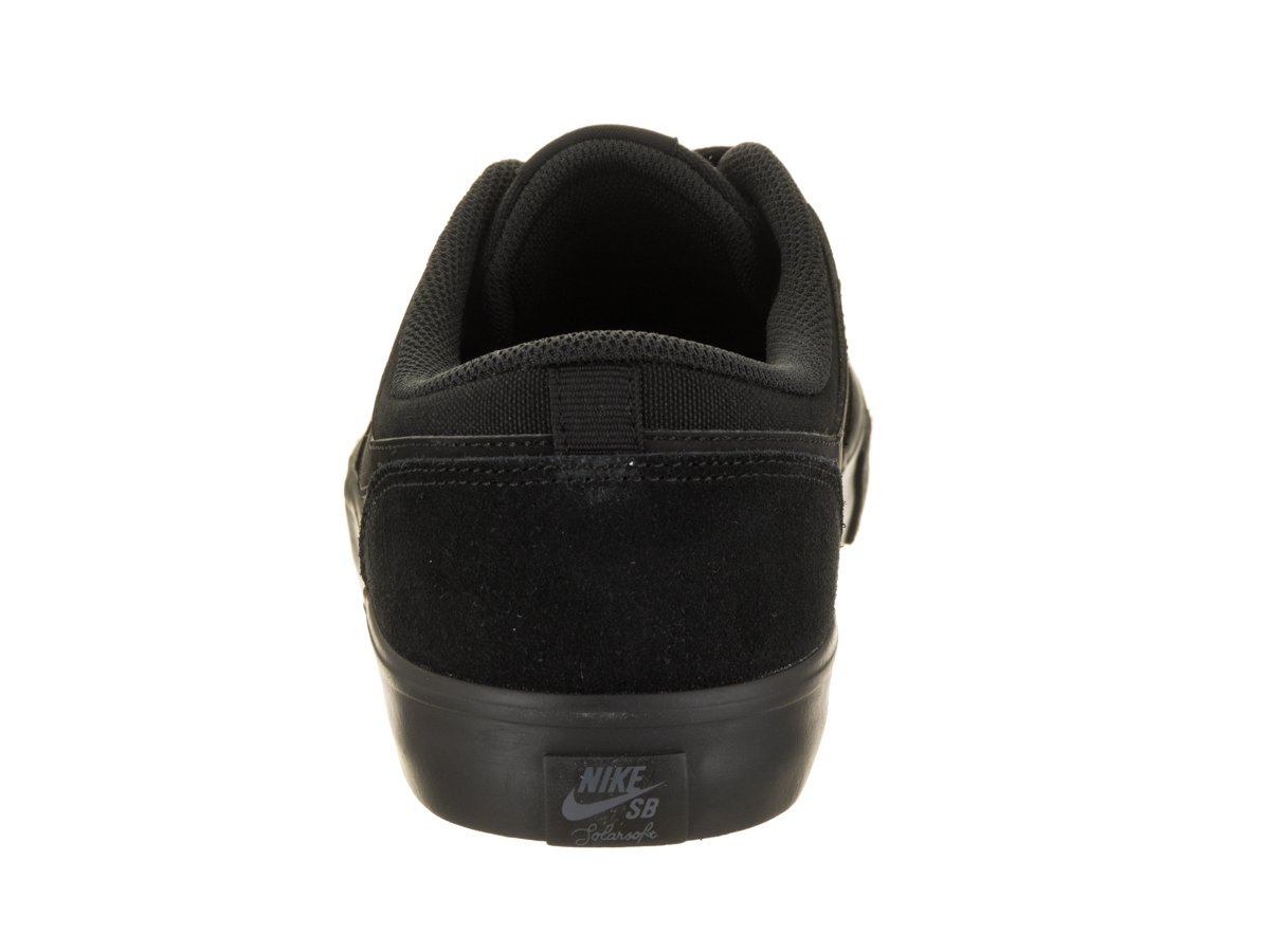 NIKE Men's Sb Portmore Ii Solar Ankle-High Canvas Skateboarding Shoe B06Y1DVRG1 12 D(M) US|Black / Anthracite