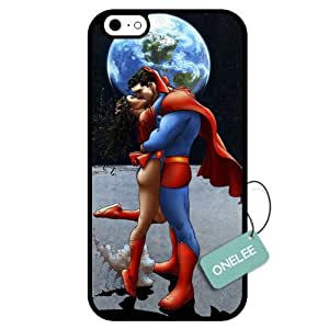 Onelee(TM) - Customized Superman TPU Case Cover for Apple iPhone 6 - Black 02