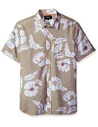 Jack Spade mens Short Sleeve Flower Print