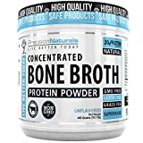 Bone Broth Protein Powder - Paleo/Keto Friendly - Natural NON GMO Grass Fed Beef - Gluten Free Unflavored Ancient Form of Nutrition Made Modern 445g/15.7oz 20 Servings. Collagen Peptides