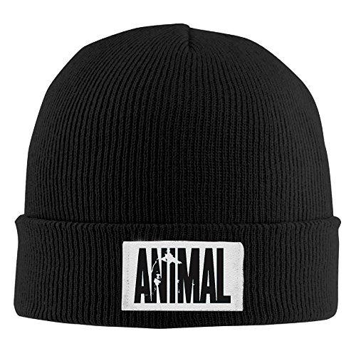 Milk Anabolic (Beanie Hat Animal Letter Print Stringer Bodybuilding Winter Hat Slouchy Beanie)