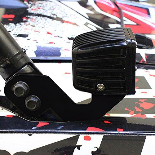 ASD Custom Side Pillar Metal LED Light Mounting Bracket for POLARIS RZR XP 1000 900