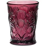 Tumbler - Inverted Thistle - Mosser Glass - USA (Amethyst)