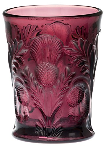 Tumbler - Inverted Thistle - Mosser Glass - USA (Amethyst Tumbler)