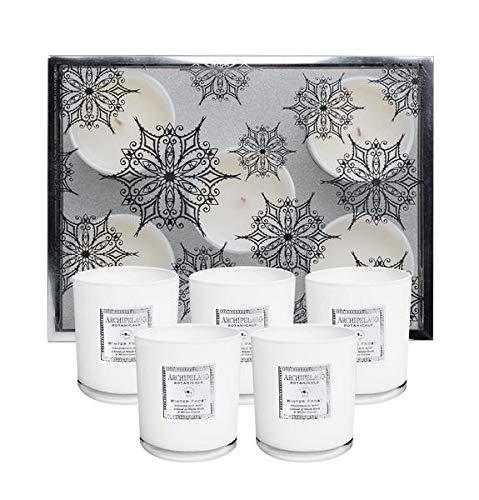 - Archipelago Winter Frost Votive Candle Gift Set