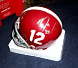 Mark Ingram Alabama Heisman Autographed Signed Mini Helmet - COA - Mint