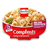 Hormel Compleats Bacon Parmesan Rigatoni in Cheese Sauce, 9 Ounce (Pack of 6)