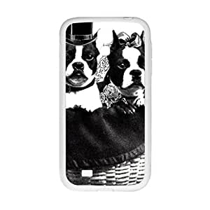 Cute gentle dog Cell Phone Case for Samsung Galaxy S4 by icecream design